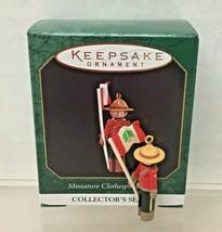1984 Clothespin Soldier #3 Canadian Mo Mini Hallmark Christmas Tree Orna... - $14.36