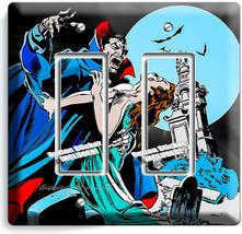 DRACULA PRINCE OF DARKNESS BLOOD SUCKING VAMPIRE 2 GFCI LIGHT SWITCH PLA... - $12.99