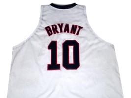 Kobe Bryant #10 Team USA New Men Basketball Jersey White Any Size image 2