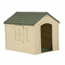 Suncast Outdoor Dog House with Door - Water Resistant Dog House for Smal... - $62.11