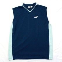 VINTAGE Men's Puma Sleeveless Jersey 1X Extra Large Relaxed Fit Basketba... - $15.14