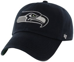 NEW! Seattle Seahawks NFL '47 Franchise Fitted Hat, Navy, Small! - $12.00