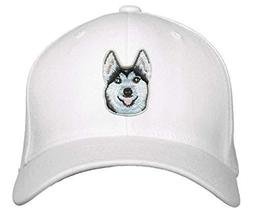 Husky Dog Hat Adjustable Cap (White) - $17.05