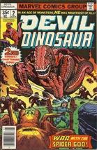 (CB-15) 1979 Marvel Comic Book: Devil Dinosaur #2 - $15.00