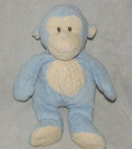 2007 TY PLUFFIES DANGLES BABY BLUE MONKEY STUFFED ANIMAL PLUSH SEWN EYES... - $34.15