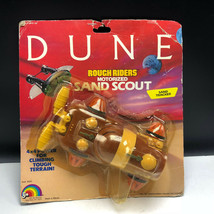 VINTAGE DUNE ACTION FIGURE 1984 LJN MOC rough rider motorized sand scout... - $123.75