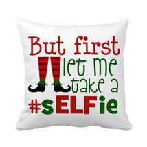 Christmas Pillow Cover Cushion Cover - $8.75