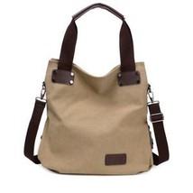 Fashion Women's Canvas Tote Handbag Female RARE Hot Sale Simple Casual Shou - $129.48 CAD