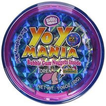 Bubble Mania Yo Yo Mania Bubble Gum Nugget Yo Yo Novelty Candy Toy (Pack... - $19.98