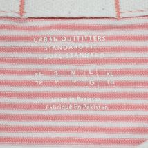 Urban Outfitters Standard Fit Pink Thin Stripe Striped Short Sleeve Shirt Size L image 3