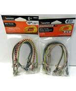 Bungee Cord Mini Stretch Tie Down Strap Lot of 2(4pc) Trailer Home Car T... - $6.88