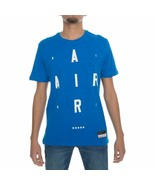 NIKE AIR BRAND MARK 2 SIZE MEDIUM (M) BLUE WHITE NEW COMFORT MEN - $29.69