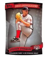 2010 Topps Update Peak Performance #PP-101 Stephen Strasburg Nationals N... - $6.00