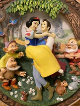 """Disney """"Snow White"""" 3D Collectors plate """"A Wish Come True"""" Numbered Item... - $56.95"""