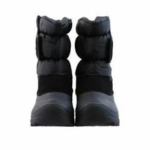 KHOMBU Kid's Unisex Waterproof Winter Snow Trekker Boots Black  Sz 10 - $32.46