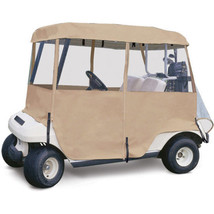 Golf Cart Enclosure 4-Sided Passenger 2-Person Canopy Roof Vehicle Cover... - $1.264,57 MXN