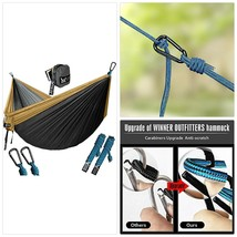 WINNER OUTFITTERS Double Camping Hammock - Lightweight Nylon Portable Ha... - $49.15