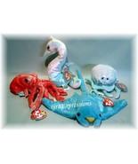 TY Beanie Babies WIGGLY~GOOCHY~NEON~SUNRAY~MWMTS  - $18.95