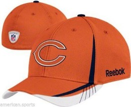 Chicago Bears Reebok Structured Flex Hat Draft Hat Cap girls boys 4-7 New - $21.53