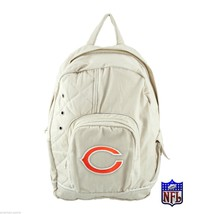 Chicago Bears Football Gamebag NFL Classic Cotton Backpack w laptop Slee... - ₹1,882.74 INR
