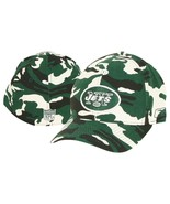 New York Jets Football Mens Hat Cap Reebok huniting Camo Flex Fit - $21.41