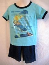 Boy Toddler Size 3T Koala Kids  2 pc Shorts & Shirt Set Blues and Denim ... - $9.79