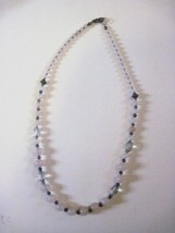 "18"" Necklace Opaque Pink Bead   Handcrafted - $7.83"