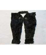 Vintage Genuine Black Fur Draped Collar Accesor... - $15.00