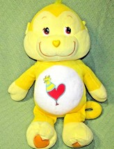 "27"" Care Bears Playful Heart YELLOW MONKEY JUMBO Plush Teddy Pillow Styl... - $28.04"