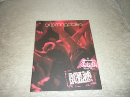 Y.E.S.  World Tour Edgy Rock Fashion Catalog Bloomingdale's New York  20... - $7.99