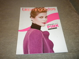 Bloomingdales New York Womens Pink Fashion & Accessories 2011 catalog NF - $5.75