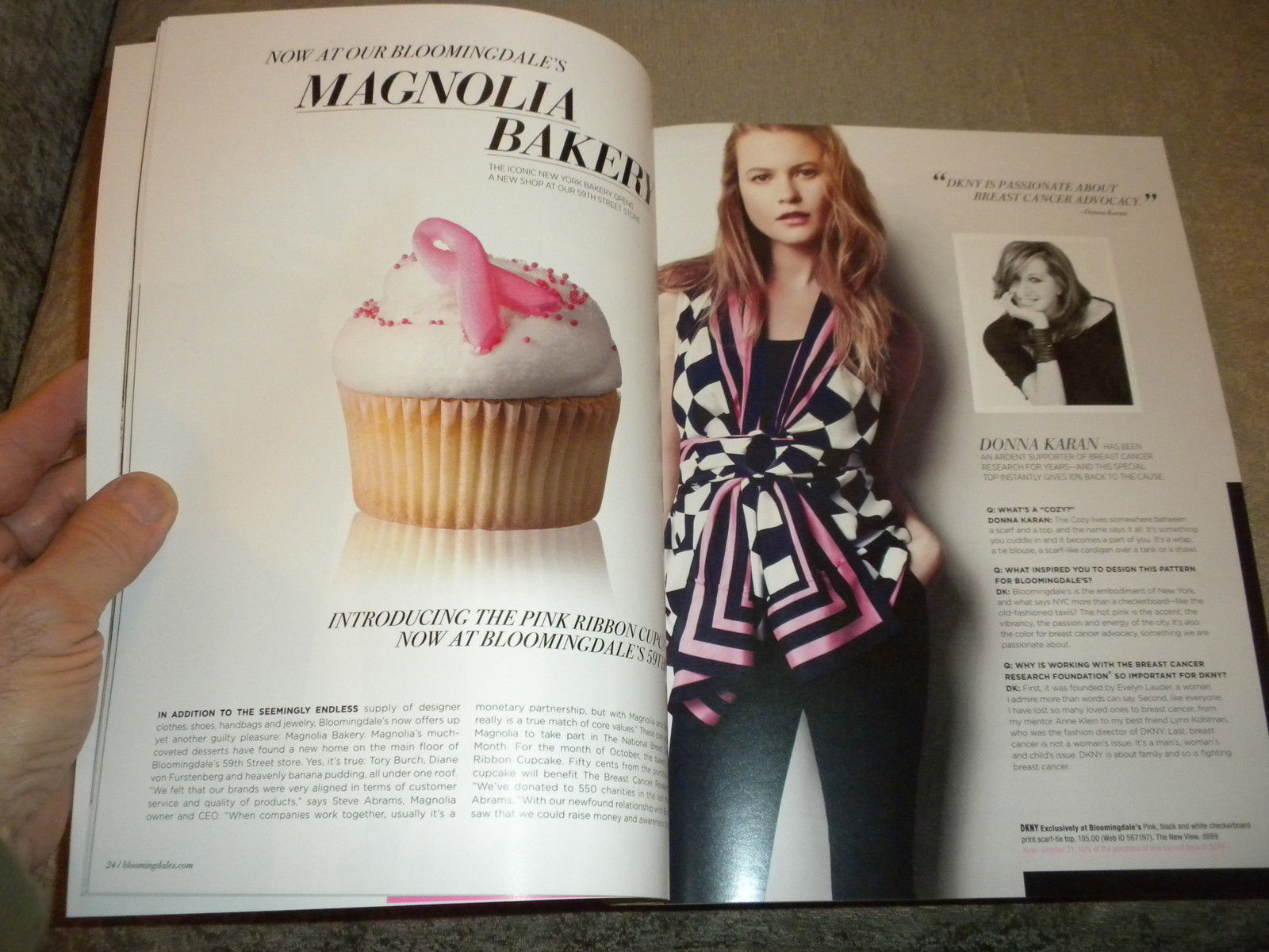 Bloomingdales New York Womens Pink Fashion & Accessories 2011 catalog NF