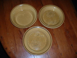 (3) Vintage FRANCISCAN bowls; 1970's  Made in USA - $12.99