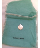 "Tiffany Silver charm - ""Return to Tiffany"" roun... - $120.00"