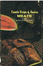 Favorite Recipes of America Meats Edition Cookbook - $6.99