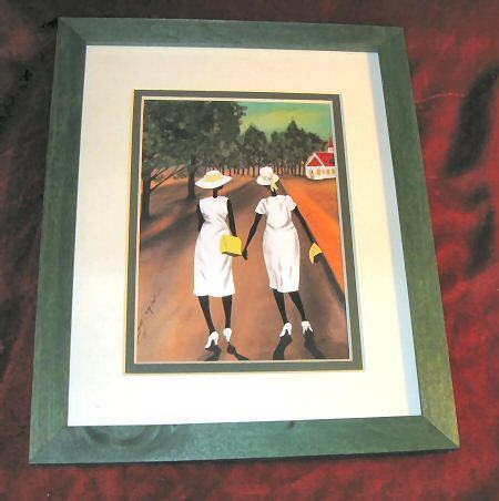 Leroy Campbell Ushers of the Church Art Print Framed