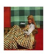 1960s Afghans or Wall Hangings Weave In  - 2 Crochet pattern (PDF 6907) - $3.75