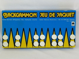 Backgammon Board Game 1976 Hoyle Games 100% Complete Excellent Condition... - $8.19