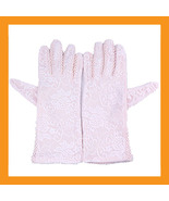 pink UV gloves protection driving driver sun pr... - $14.50