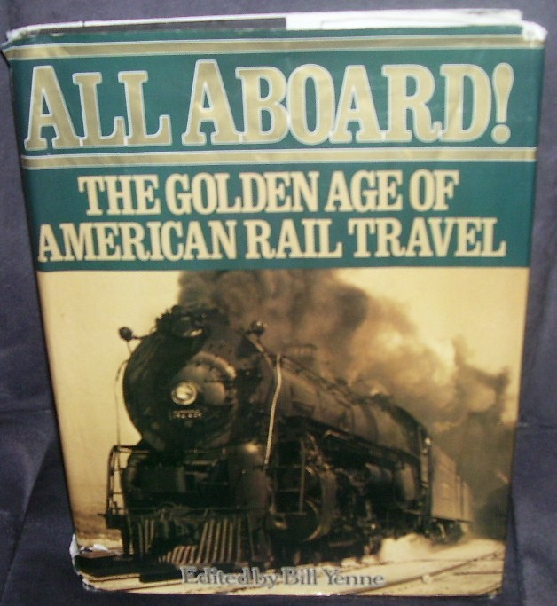All aboard rail travel book