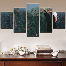 Large Framed War Memorial Vietnam Patriotic Canvas Print Wall art Home D... - $128.69