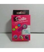 SELFIE MOBILE LENS KIT 3 IN 1 PINK INTERCHANGEABLE LENS SMART PHONE COMP... - $4.89