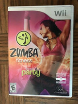 Zumba Fitness(Nintendo Wii, 2010)Booklet enclosed NO ZUMBA FITNESS BELT ... - $5.00