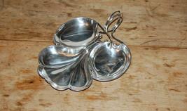 William Hutton Sons Creswick Co Sheffield English Silverplate Leaf Scrol... - $95.00