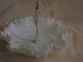 Fenton Silver Crest Candy Dish - $25.00