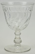 "Vintage Fostoria Glass Water Goblet Colony Pattern 5.5"" Tall Collectible... - $11.99"
