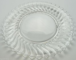 "Vintage Fostoria Glass Salad Plate Colony Pattern 7.25"" Rd Collectible C... - $11.99"