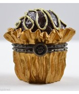 Boyds Bears Lovie's Truffle Cupid McNibble Resin Treasure Box Collectibl... - $22.99