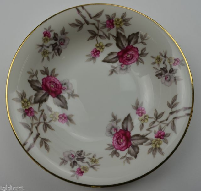 Meito China Rosanne Pattern Dessert Bowl Vintage Retired Replacement Dinnerware & Meito China Rosanne Pattern Dessert Bowl and 29 similar items