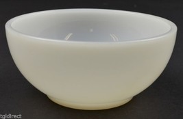 """Anchor Hocking Fire King Chili Bowl Anchorwhite Pattern 5"""" Wide Oven Ware - $6.99"""